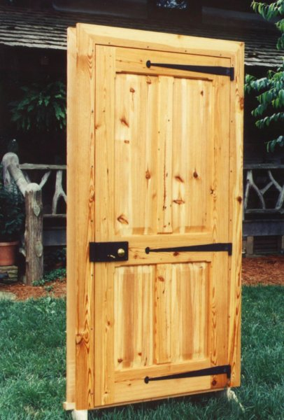 Hearthstone Log And Timber Frame Homes Heart Pine Doors