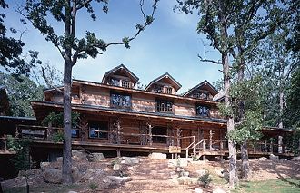 Hearthstone Log and Timber Frame Homes: Project Gallery (2nd Creek